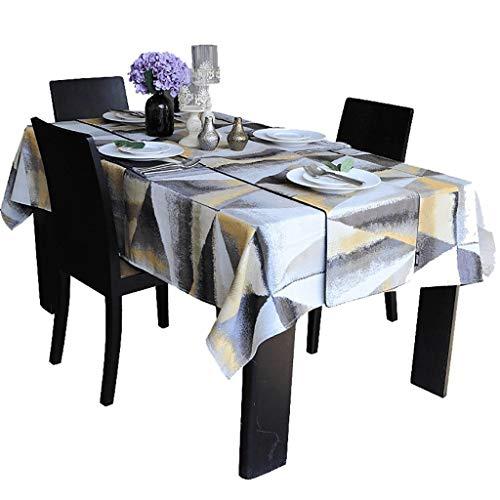 Chemin de table en polyester - Tissu utilisé pour le comptoir de bar de la table à coiffer de la table à manger de la table basse de la table à manger 4 tailles à choisir (Taille : 32×200cm)