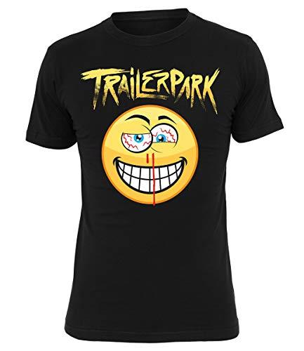 Trailerpark T-Shirt Smile, Farbe:schwarz, Größe:M