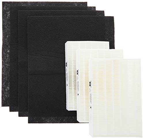 Honeywell True HEPA Filter Value Combo Pack for HPA300 Series Air Purifier, Grey, Model: HRF-ARVP300