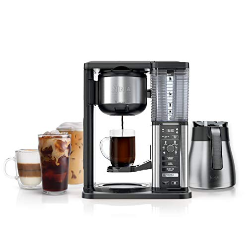 Ninja CM407 Specialty Coffee Maker, with 50 oz. Thermal Carafe, Black and Stainless...