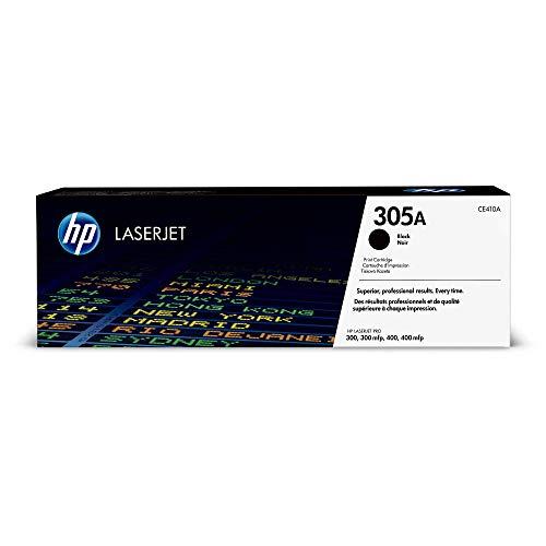 HP 305A (CE410A) Schwarz Original Toner für HP Laserjet Pro M351, M375nw, M451, M475