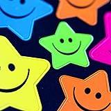 5 Color Reward Children Kids Cute Smiley Faces Star Teacher * Stickers Toys Wholesale136Pcs/Pack