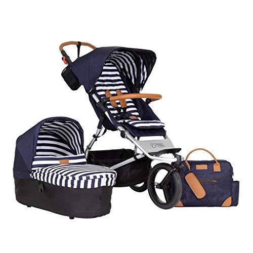 Poussette Mountain Buggy Urban Jungle V3.2 Luxury Collection Nautical + écharpe + sac à langer