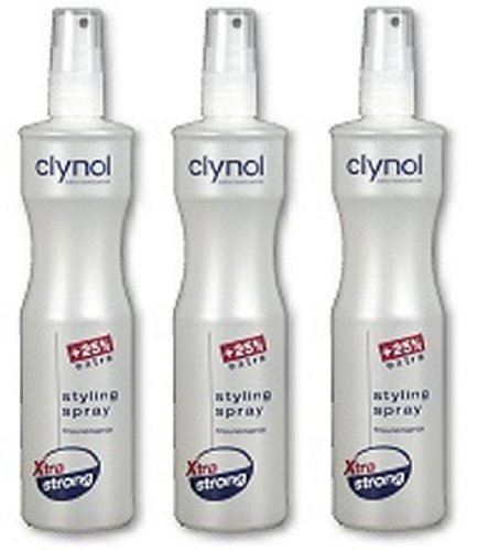 Clynol Frisurenspray Styling Spray Xtra extra strong TRIO (3 x 250 ml)