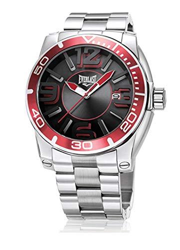 Relógio De Pulso Everlast Masculino Pulseira Aço E539