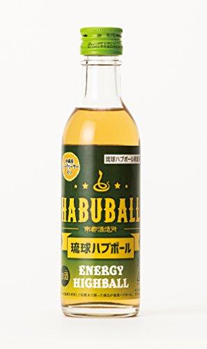 琉球の酒 琉球ハブボール用源酒 35度 100ml×15本 南都酒造 泡盛ベースでハブエキスと13種類のハーブをブレンドしたハブ原酒