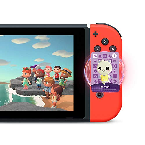 24 STK. ACNH NFC Tag Minispiel Seltener Charakter Dorfbewohner Karten für Animal Crossing New Horizons, Karten Serie 1-4 für Switch / Switch Lite / Wii U mit Aufbewahrungskoffer