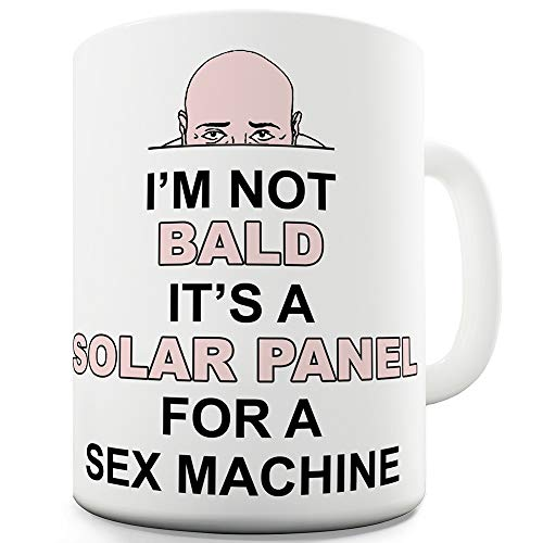 Twisted Envy I'm Not Bald Ceramic Novelty Gift Mug (Kitchen & Home)