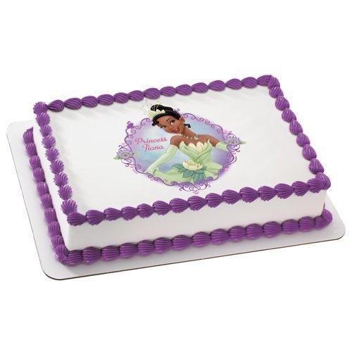 Sensational Amazon Com Princess The Frog Princess Tiana Personalized Edible Funny Birthday Cards Online Elaedamsfinfo