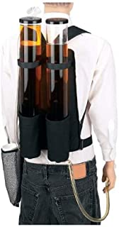 Wyndham House Dual Beverage Dispenser Backpack - Product Description - Wyndham House Dual Beverage Dispenser Backpack. Features 2Pc 3.7Qt Clear Beverage Holders, Padded Shoulder Straps And Back. Measures 12