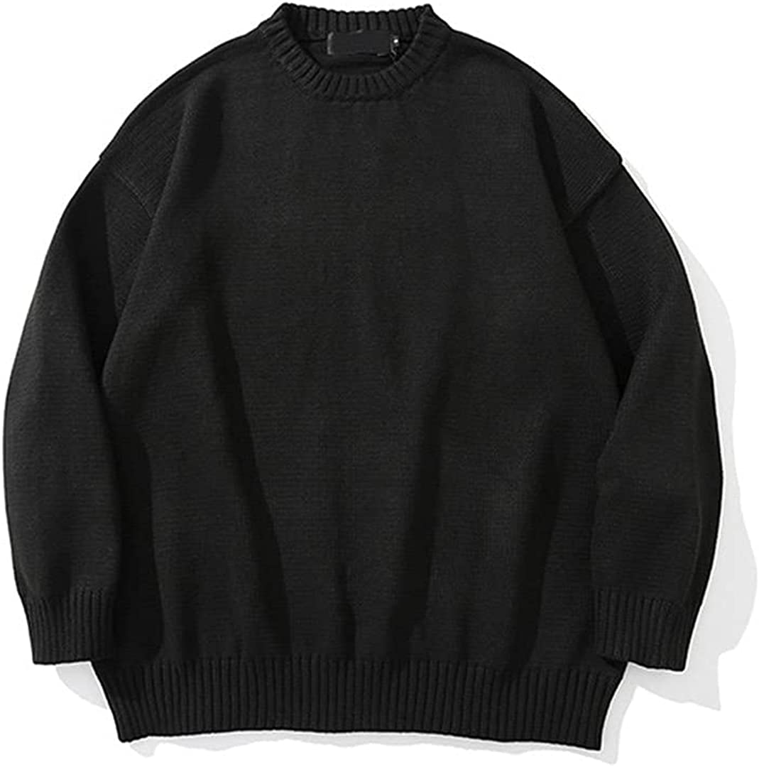 Knitted Max 73% OFF Sweater Men Streetwear Pull Max 72% OFF Classic Winter Solid