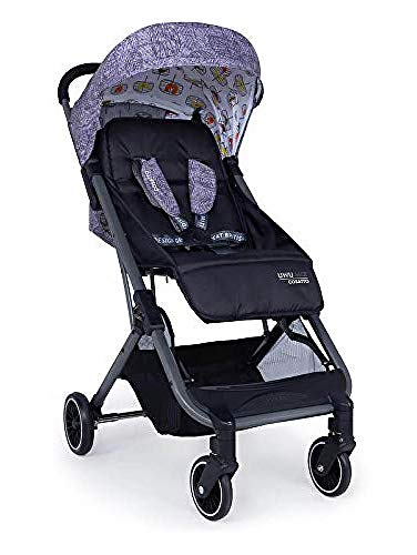 Cosatto UWU Mix Pushchair – Compact City Stroller - Suitable from Birth to Toddler, Easy Fold, Pull Along Handle (Dawn Chorus)