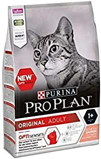 Purina Pro Plan Original Optisenses Salmon Adult Cat Food 1.5kg