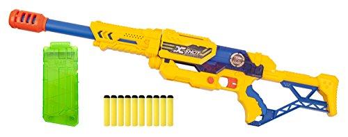 Unbekannt zuru 10012791–X de Shot MAX Attack Blaster con 10Dardos, Deportes Juguete, 70cm