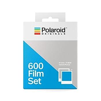 Polaroid Originals 600 Two Pack Film Set  1 Color + 1 B&W   4844