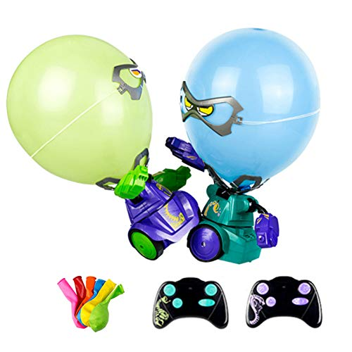 WANGJ Robot Fighting Balloon Puncher, Balloon Popping Robot-Keep Punching Until it pops Out, a Balloon Robot Battle for Parent-Child Games for Adults (2 Pieces)