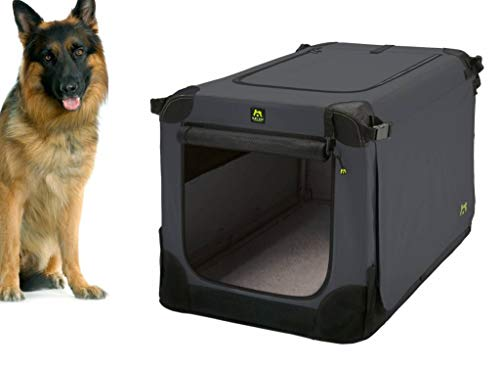 Maelson Soft Kennel Hundebox - Anthrazit - 105 x 72 x 81 cm