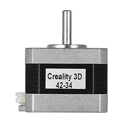 kowaku Replacement 3D Printer Stepper Motor 2 Phase 0.8A 1.8 Degree High Accuracy - 42x42x34mm