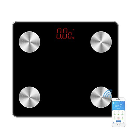 Find Bargain HoneyGod Bluetooth Body Fat Scale - High Precision Strain Sensor Smart Wireless Digital...