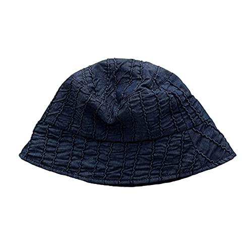 BULABULA Sombrero de algodón para mujer con estampado, protección solar de alta calidad, para verano, playa, pescador