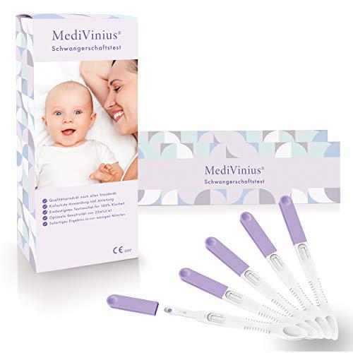 MediVinius 5 Minuten Schwangerschaftstest
