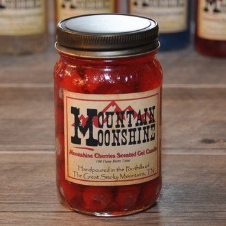 The Candle Cottage Mountain Moonshine, Moonshine Cherries Candle