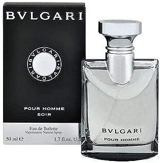 Bvl ga ri Soir Pour Homme EDT Cologne for Men 1.7 FL.OZ./50 ml.