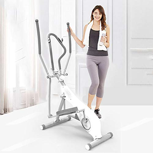 JKGLD Elliptical Machine for Home Elliptical Trainer Elliptical Cross Trainer Exercise Bike-Fitness Cardio Workout Machine for Home Exercise Machine (Color : White, Size : Free Size) 1