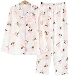 レディース パジャマ 人気 半袖 長袖 花柄 綿100 二重 ガーゼ 上下 セット パジャマ 部屋着 前開き 便利服 入院服