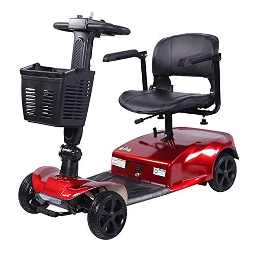 XGYUII Patinete De Movilidad Compacto Motorizado Plegable, Patinete Eléctrico Transportable, Silla De...