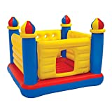 Inflatable Colorful Jump-O-Lene Kids Ball Pit Castle Bouncer House Trampoline for Ages 3-6