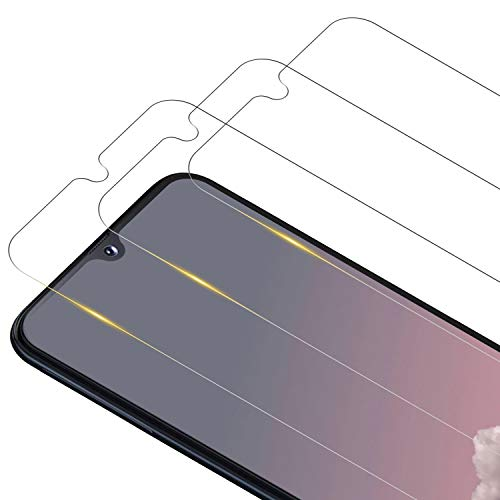 RIIMUHIR Protecteur d'écran en Verre Trempé pour Samsung Galaxy S10 Lite/Note 10 Lite, [3 Pièces] [9H Dureté] [HD Transparence] [sans Bulle] Film Protection pour Note 10 Lite