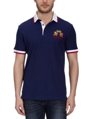 Peak Sport Europe Herren Polo Shirt, navy, XXS, F61037