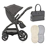 Egg Stroller Quantum Grey with Changing Bag &...