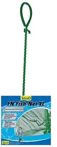 Tetra FN Fish-Net, hochwertiges Fangnetz aus reißfestem Nylon für Aquarien, Größe XL Netzgröße 15 cm, ermöglicht das leichte und schonende Herausfangen von Fischen
