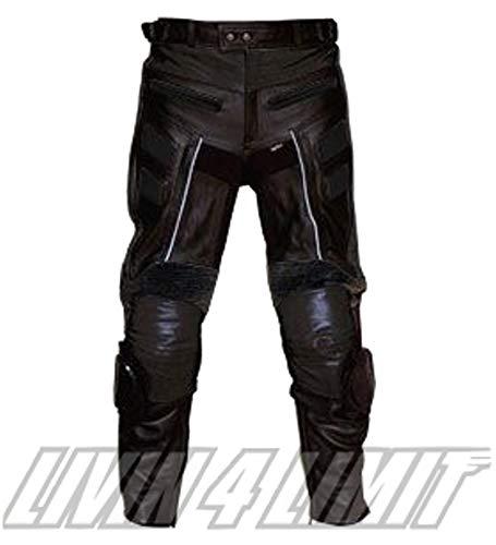 Preisvergleich Produktbild 4LIMIT Sports Motorradhose Leder Adrenalin schwarz L