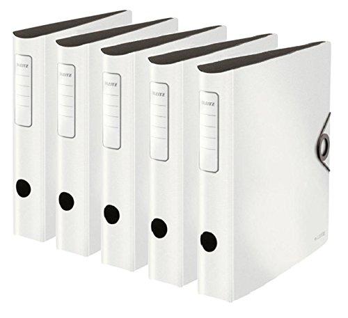 Leitz 5 x Ordner Active Solid 65mm weiß