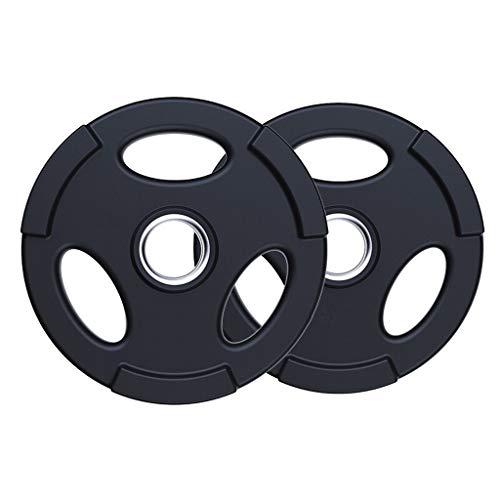 LIULU Hantelscheiben - Barbell Olympic Langhantelgewichte Gewicht Plates Standard 2
