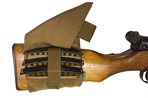 Strike Hard Gear SKS Rifle Ammo Pouch (Coyote Brown)