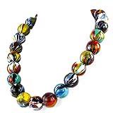 Tintor - Collar con cuentas venecianas - Original Murano Glass OMG