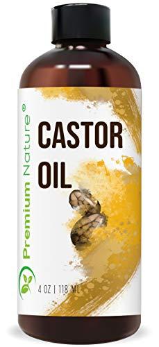 Premium naturaleza aceite de ricino, Natural Carrier aceite