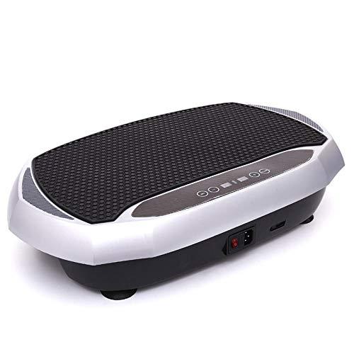 B/H Plataforma Vibratoria Oscilante,Máquina para Quitar Grasa Perezosa del hogar, agitador de pie,Plataforma Vibratoria de Fitness Motor