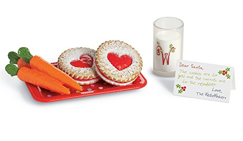 American Girl WellieWishers Cookies & Milk Accessories for Doll