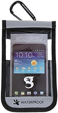 geckobrands Waterproof iPhone6 Plus/Large Phone Dry Bag - Grey