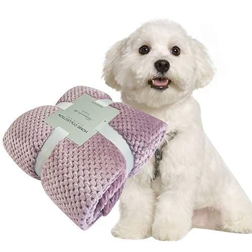 PET SPPTIES Super Morbido e Caldo Coperte per Cani, Gatti, Conigli e Altri Animali Domestici PS051 (100x150cm, Red Bean Curd)