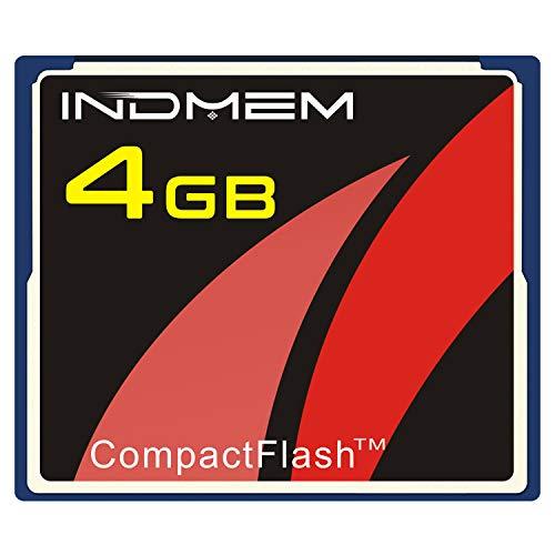 INDMEM CF Karte 4GB CompactFlash Speicherkarte für Fotokameras