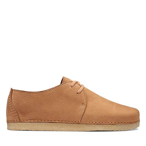 Clarks Originals Damen Ashton. Derbys, Braun ( Light Tan Nubuck), 42 EU