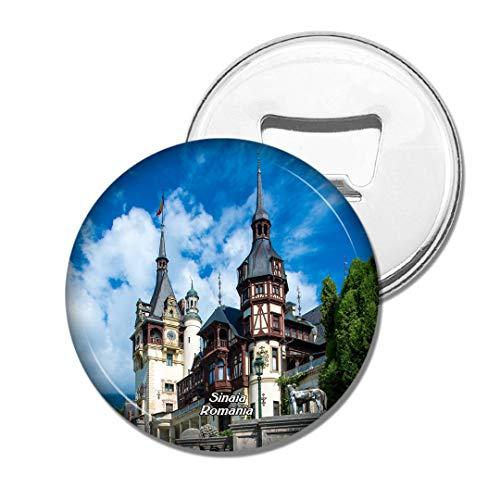 Weekino Rumänien Peles Castel Sinaia Bier Flaschenöffner Kühlschrank Magnet Metall Souvenir Reise Gift