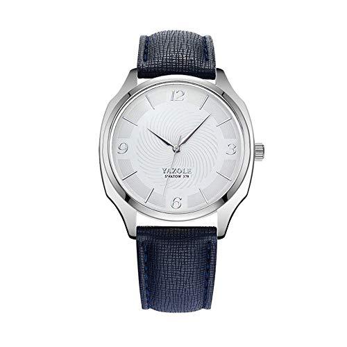 SJXIN Stilvolle Uhr 417 YAZOLE Uhr Quarzuhr Herrenuhr Uhr Modeuhren (Color : 2)