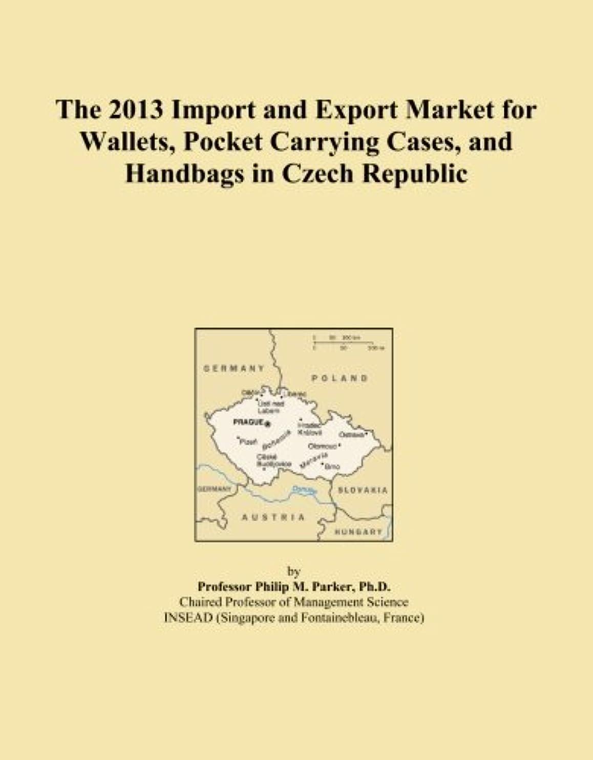 大使館ペルセウス逃げるThe 2013 Import and Export Market for Wallets, Pocket Carrying Cases, and Handbags in Czech Republic